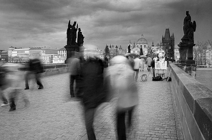 Na Karlově mostě / On the Charles Bridge