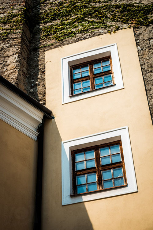 Dvě okna / Two windows