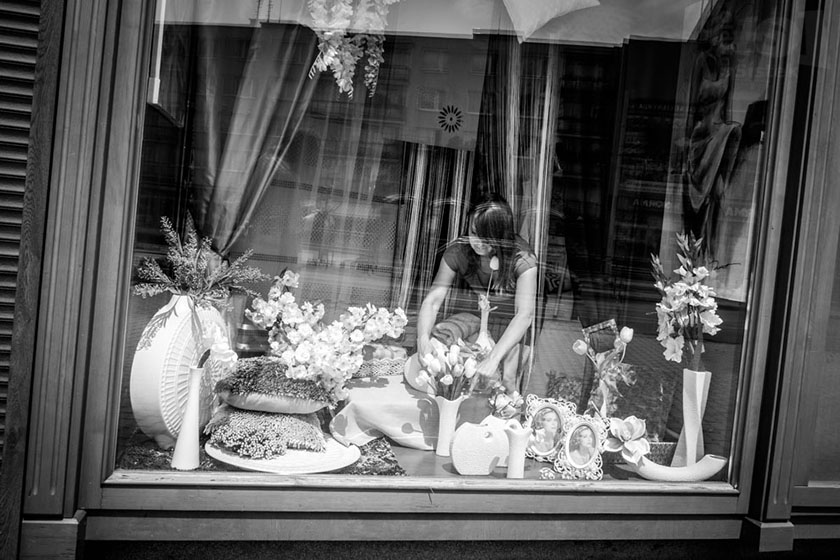 Aranžérka / Window dresser